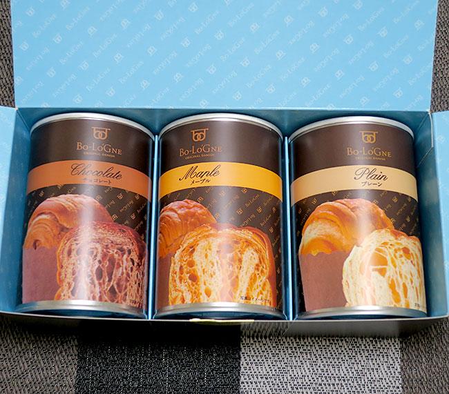缶詰パン缶deボローニャ