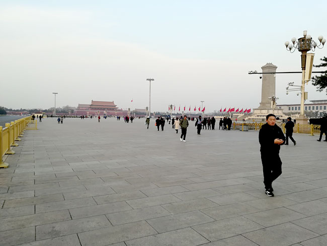 北京天安門広場