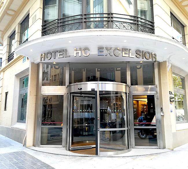 バレンシア市内ホテル