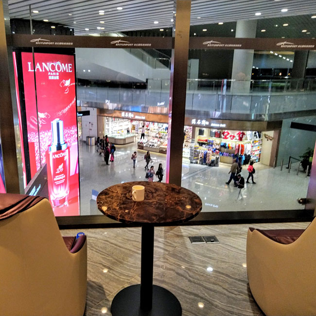 広州白雲国際空港ラウンジ