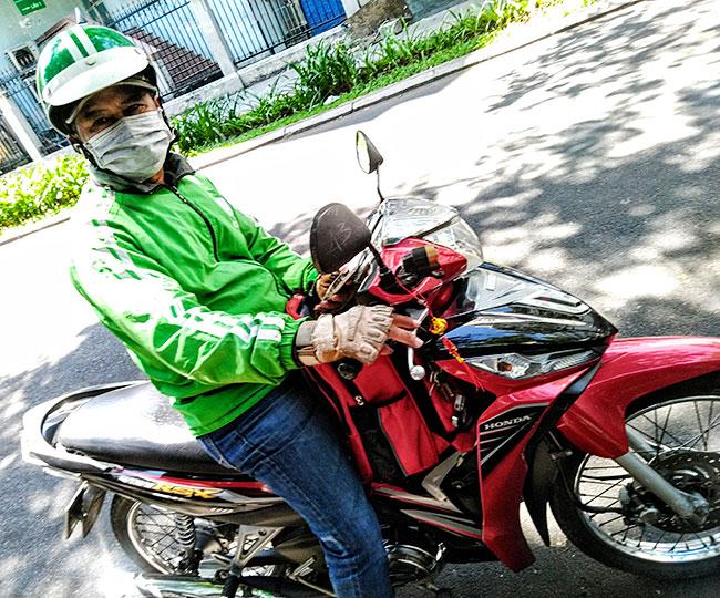 Grabバイクタクシー