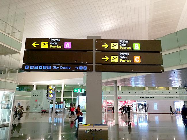 バレンシア空港ラウンジ