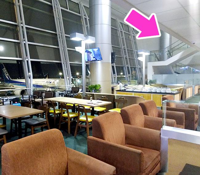 ホーチミン空港オーキッドラウンジ