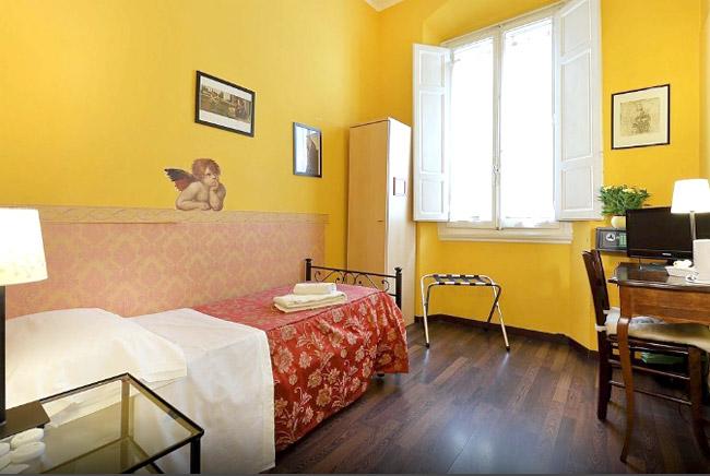 女一人旅フィレンツェホテル