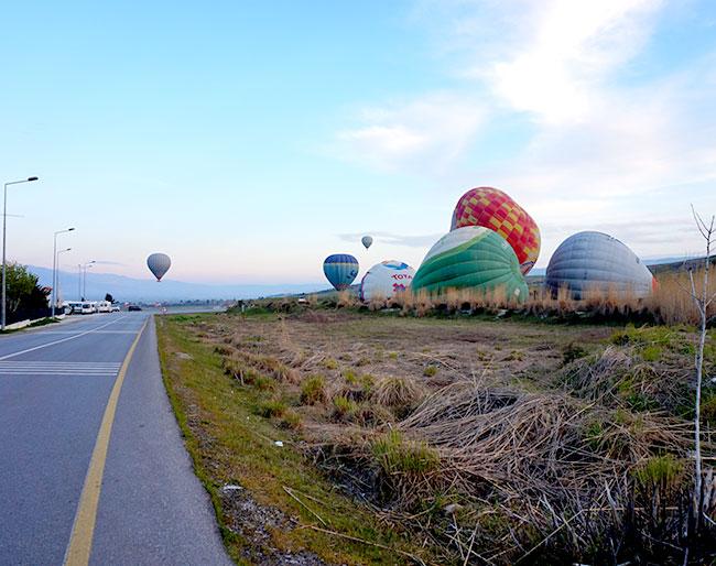 パムッカレ気球