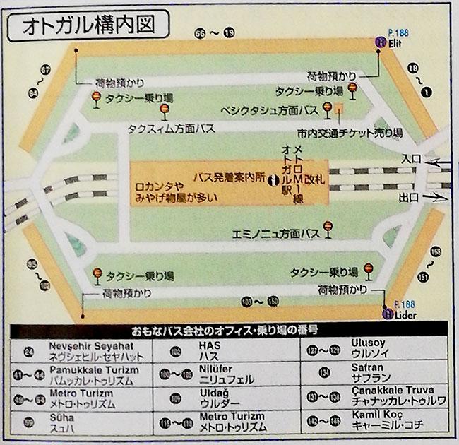 オトガル(バスターミナル)