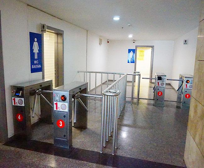 イズミルバスターミナルトイレ