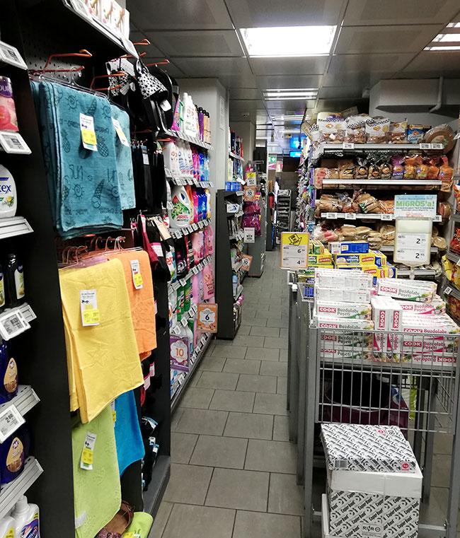 イスタンブール新市街地スーパー